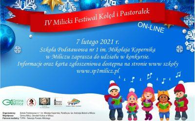 IV Milicki Festiwal Kolęd i Pastorałek