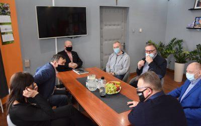 Spotkanie Gmina Milicz i Gmina Baranów