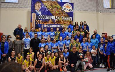 Ogólnopolski Turniej Minipiłki Siatkowej o Puchar Małgorzaty Glinki.