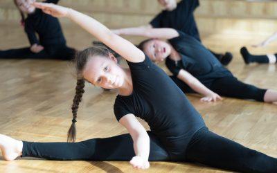 Sport dzieci balet