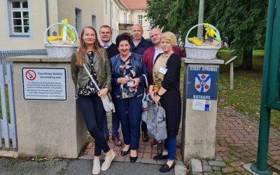 Przedstawiciele gminy Milicz w Springe