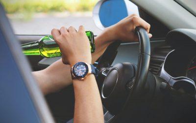 Kierowca z piwem