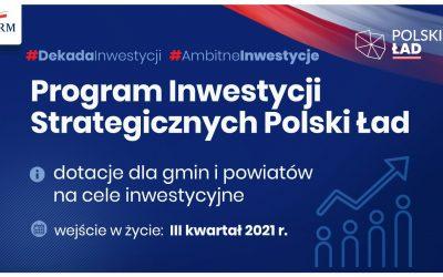 Polski Ład dofinansowanie